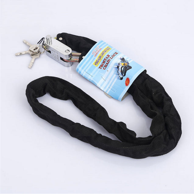 BIKIGHT 1.2m Metal Cycling Bicycle Motorcycle Heavy Duty Chain Lock Padlock Secure Bike Lock Xiaomi Motorcycle