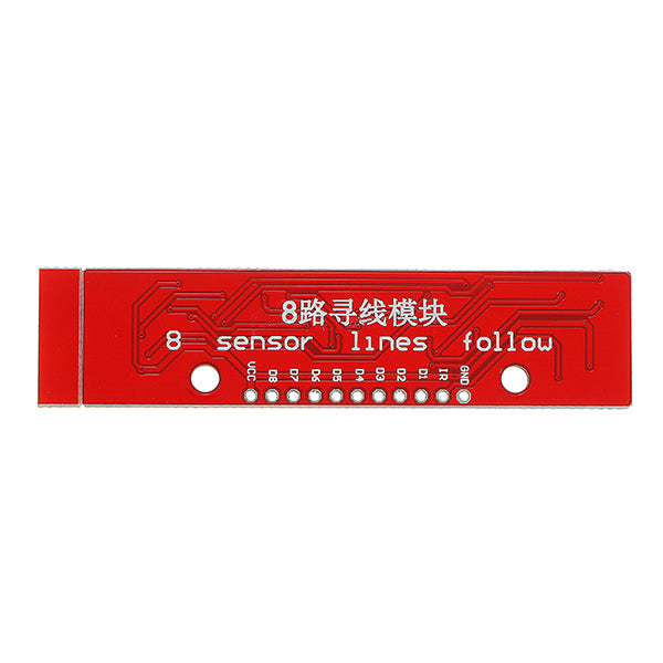 5Pcs Infrared Detection Tracking Sensor Module 8 Channel Infrared Detector Board For Arduino