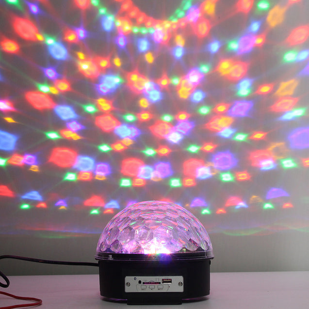bluetooth Disco DJ Stage Light Party KTV Ball Club Xmas LED Lighting Projector Lamp