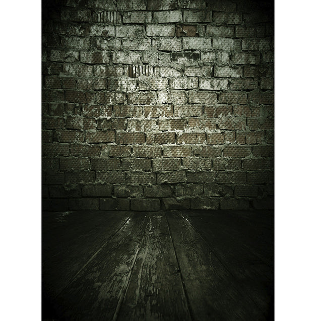 3x5ft Dark Cloudy Stone Brick Theme Photography Vinyl Background Backdrop for Studio 0.9x1.5m