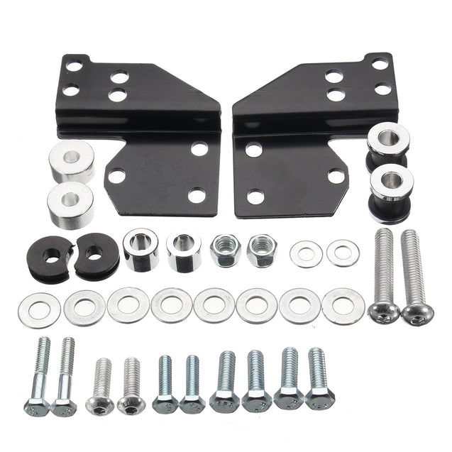 Detachables Front Docking Hardware Kit For Harley Davidson Road Glide 1997-2008