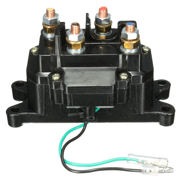 12V Solenoid Relay Contactor Winch Rocker Thumb Switch For ATV UTV