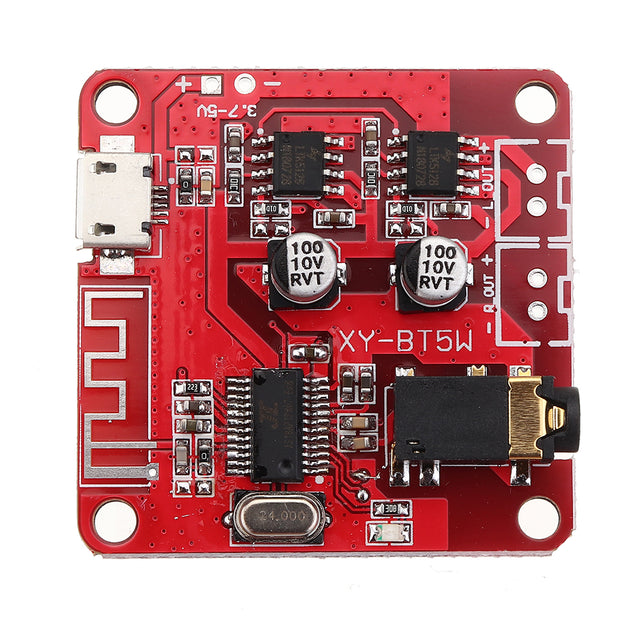 5pcs MP3 Bluetooth Decoder Board with Amplifier Wireless Audio Receiver Module For Transfer Speaker Modified Car