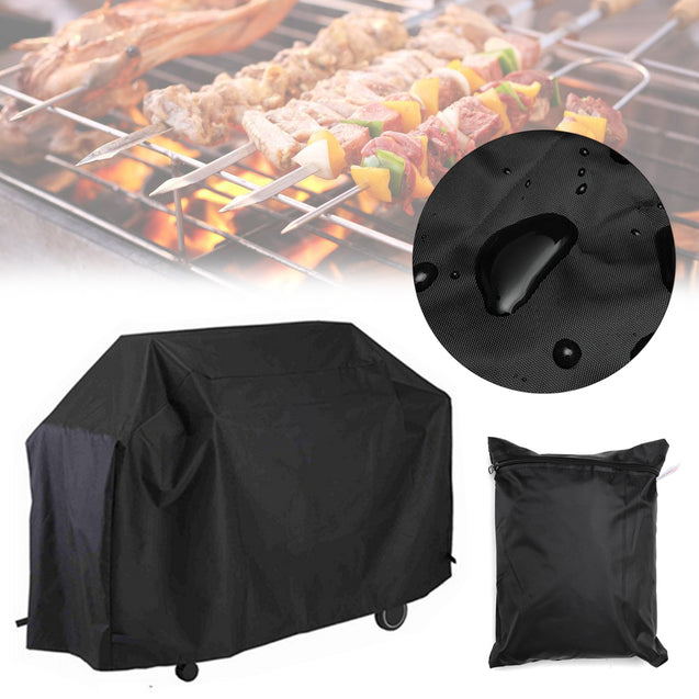 145 x 61 x 117 cm Waterproof Polyester Outdoor Picnic BBQ Furniture Cover Rain Protection