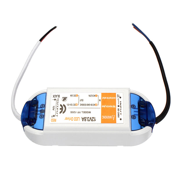 AC90-240V To DC12V 42W Power Supply LED Driver Lighting Transformer Switch for LED Strip Lights