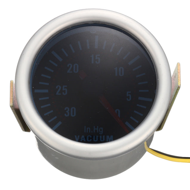 2 Inch 52mm Digital White LED Boost Vacuum Water Oil Temp Press Volt Gauge