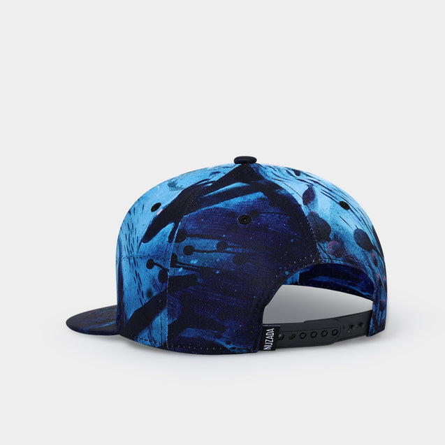 NUZADA Dacron Baseball Cap Flat Brim Hat Hip-Hop Men Women Adjustable Cycling Bike Bicycle Hat