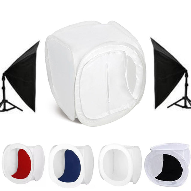 30x30x30cm Portable Photo Studio Photography Light Box Lighting Shooting Tent Backdrop