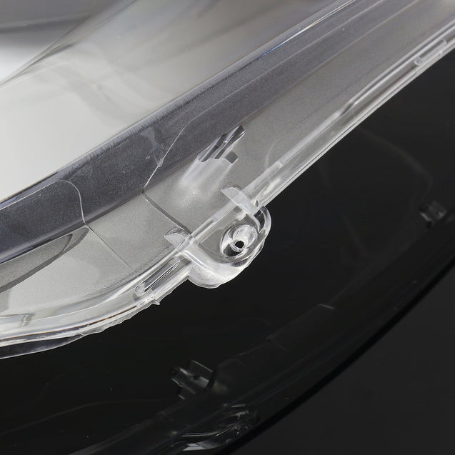 Pair Car Headlight Headlamp Lens Cover Clear Lampshade for VW Golf 6 MK6 10-14