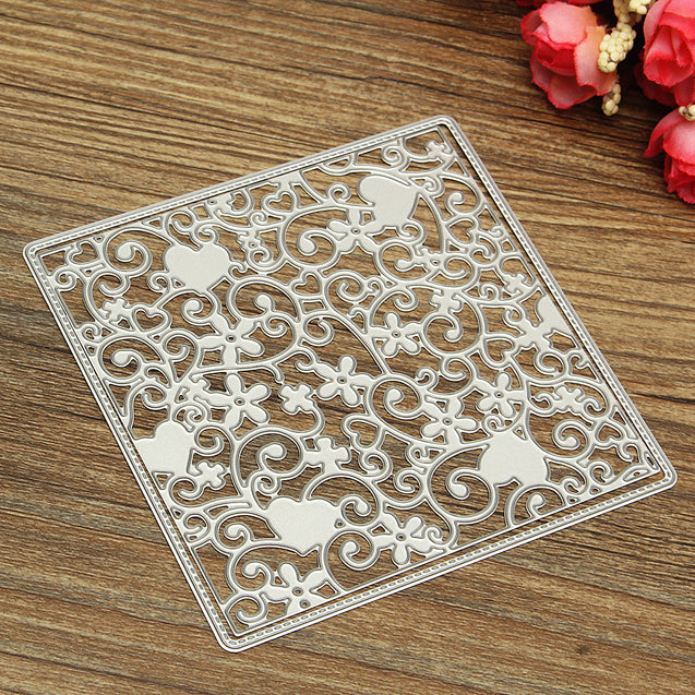 DIY Cutter Flourish Flower Metal Cutting Dies Stencils Scrapbooking Paper Craft