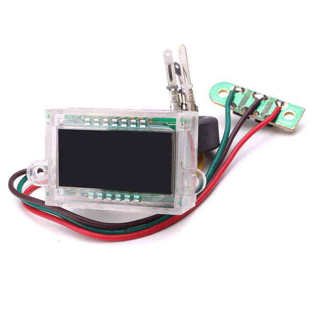 38x26x17mm DC 12V Waterproof Digital LCD Dashboard Automatic Clock For DIY