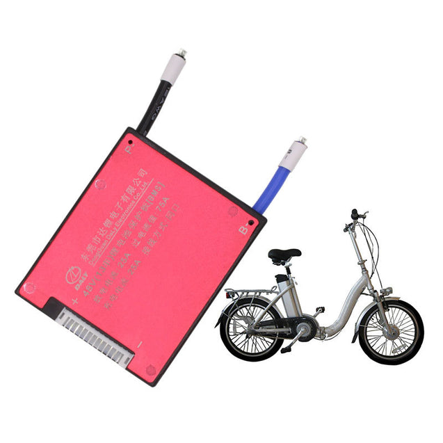 BIKIGHT Cycling Electric Bike 3.7V Li-ion 13S 48V 25A Battery Protection Board BMS Lithium Battery
