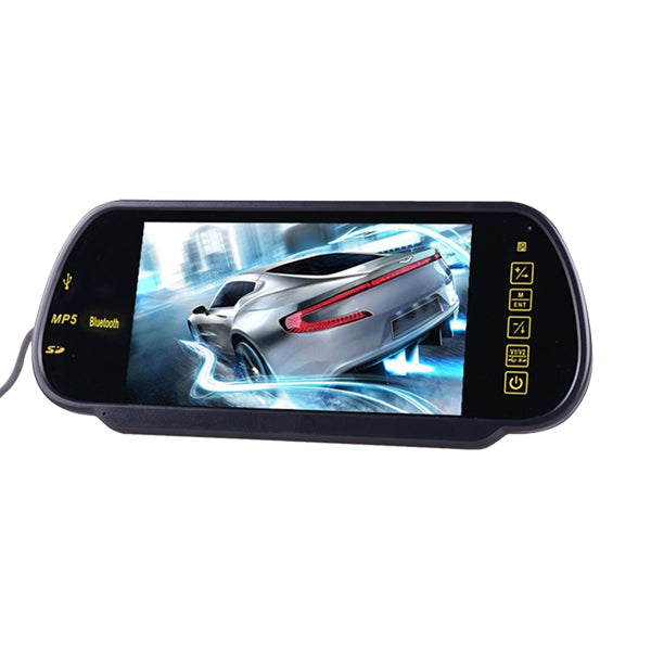 7 Inch LCD Mp5 bluetooth Reversing Camera Car Rear View Parking Mirror Monitor