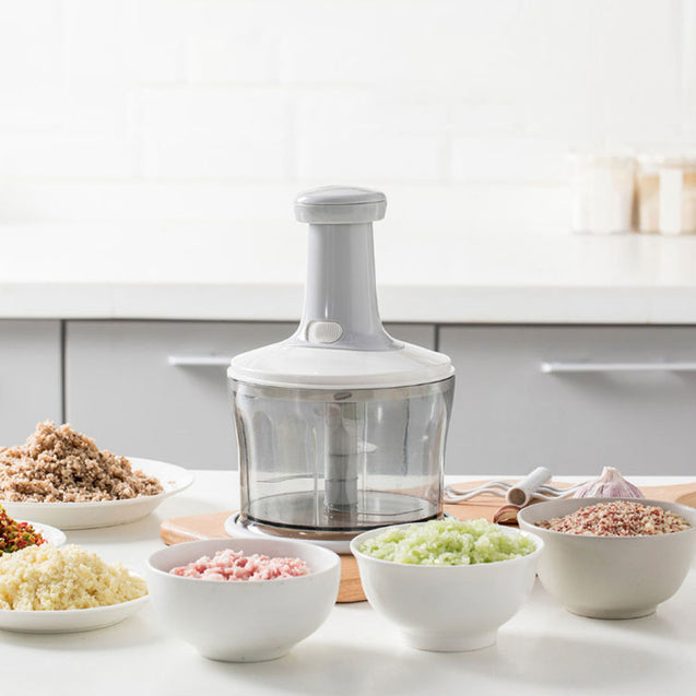 Jordan&Judy Mutlifunction Manual Meat Grinder Kitchen Hand-power Food Chopper Fruit Vegetable Nuts Herbs Garlic Cutter From Xiaomi Youpin