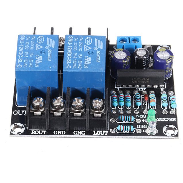 UPC1237 Dual Channel Speaker Power Amplifier Circuit Protection Board Boot Mute Delay Protect Module DC 12-24V