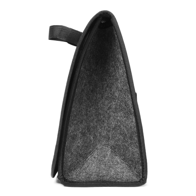 11.8x11.4 x6.3inch Felt Cloth Foldable Car Back Rear Seat Organizer Travel Storage Interior Bag Hold