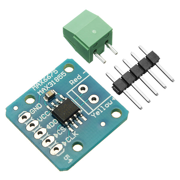 5Pcs MAX31855 MAX6675 SPI K Thermocouple Temperature Sensor Module Board For Arduino