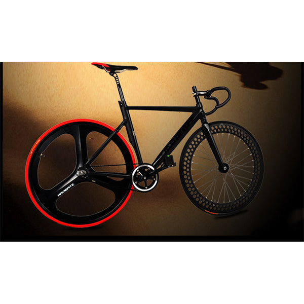700C Racing Bike Bicycle Aluminum Alloy Frame Fixed Gear Fixed Cog Back Riding Track Bike
