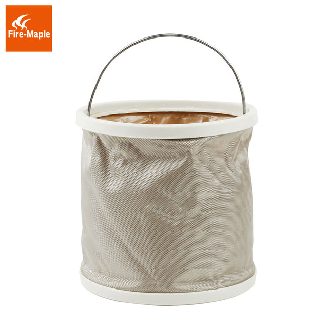 Fire-Maple 9L Folding Bucket Outdoor Portable Camping Washing Boating Washing Barrel FMB-909