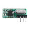 3pcs Geekcreit RX500A 315/433MHz High Sensitivity Superheterodyne Wireless Receiver Module