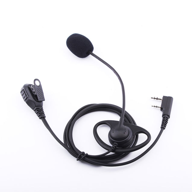 Earphone Intercom Headset Tactical Headset D-type Microphone Headset K Connector