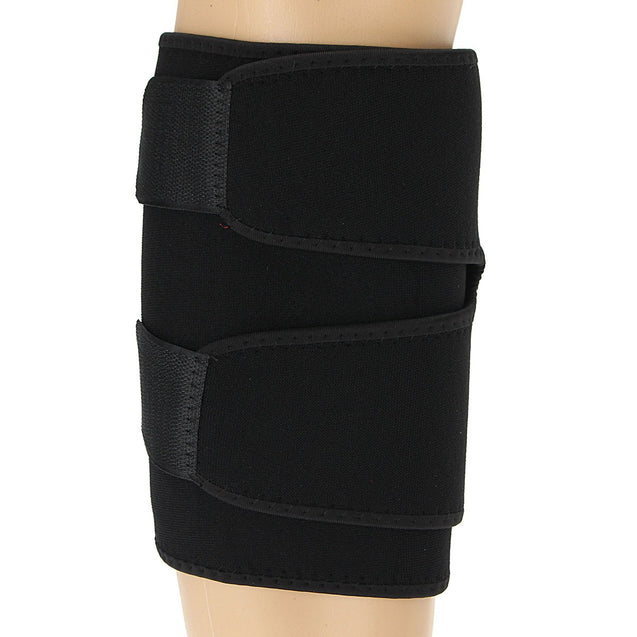 Sports Adjustable Foot Support Neoprene Calf Shin Support Wrap Brace Splint Band Sleeve Injury Guard