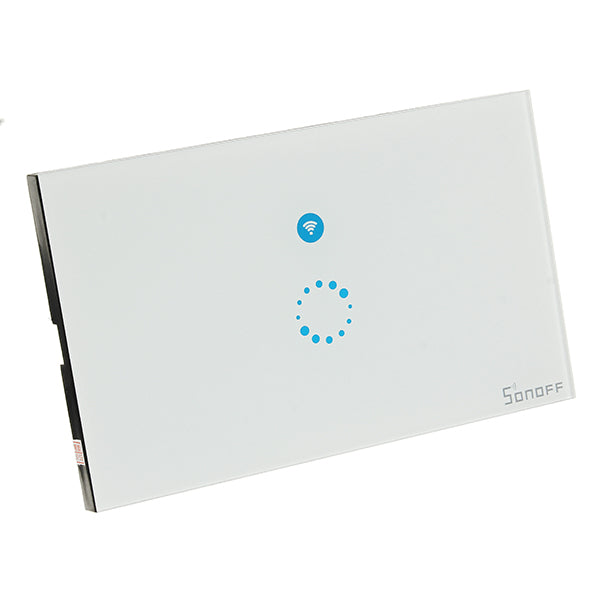 SONOFF AC90 To 250V 400W Touch Wifi Switch Module Luxury Glass Panel Wireless Timing Switch