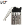 BOY 8060A 11 In 1 Bicycle Repair Tool Hexagon Screwdriver Wrench Set Chain Link Splitter tool Kit