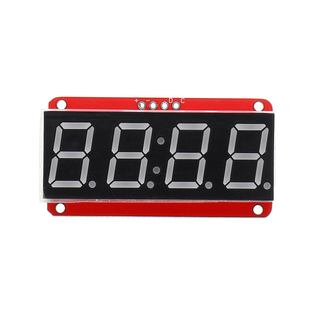 5pcs 4-bit 0.56 Inch 7-segment LED Digital Tube Module I2C Control 2-line Control HT16K33 LED Display Module