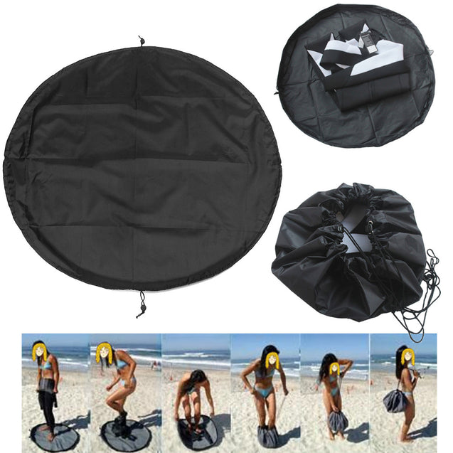 IPRee 1.3M Surfing Diving Wetsuit Change Bag Mat Waterproof Nylon Carry Pack Pouch For Water Sports