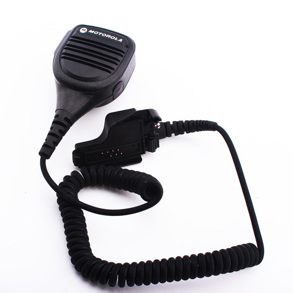 HT1000 Handheld Mic Speaker For Motorola Two Way Radio Waterproof Intercom Microphone