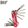BOY 8050A 12 In 1 Bicycle Multitool Repair Kit Hexagon Screwdriver Set Chain Clamp Splitter Tool