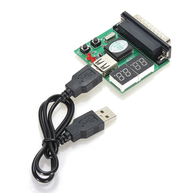 5pcs Computer Accessories PC Diagnostic Card USB Post Card Motherboard Analyzer Tester for Notebook Laptop