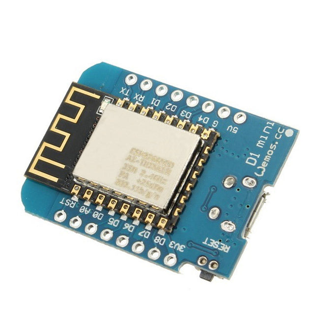 5Pcs WeMos D1 Mini V2 NodeMcu 4M Bytes Lua WIFI Internet Of Things Development Board Based ESP8266