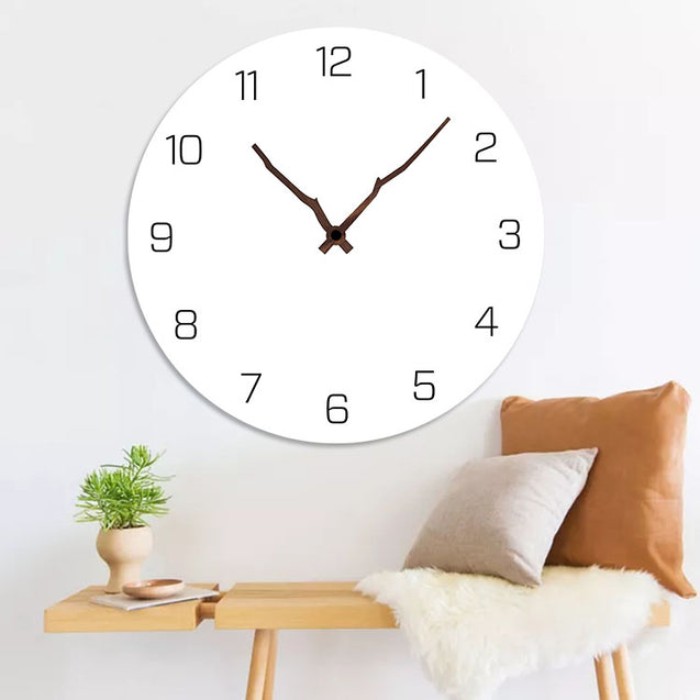 Emoyo ECY063 Digital Wall Clock Creative Wall Decoration Clock For Home Office Decorations
