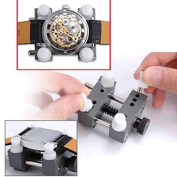 New Watch Case Holder Tool Repair Extensible Opener Kit