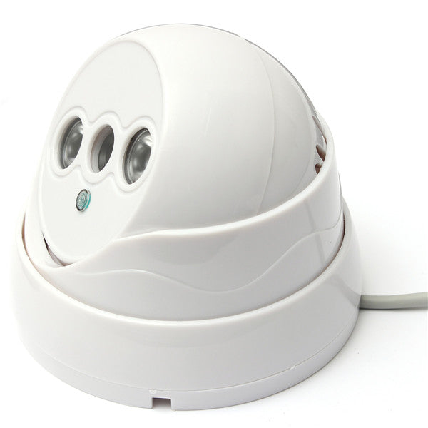 Day&Night Vision Surveillance Digital CCTV Security Camera White