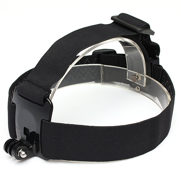 Non-Slip Elastic Head Strap Headbrand Mount For Gopro Hero 1/2/3/3 Plus Xiaomi Yi SJ4000