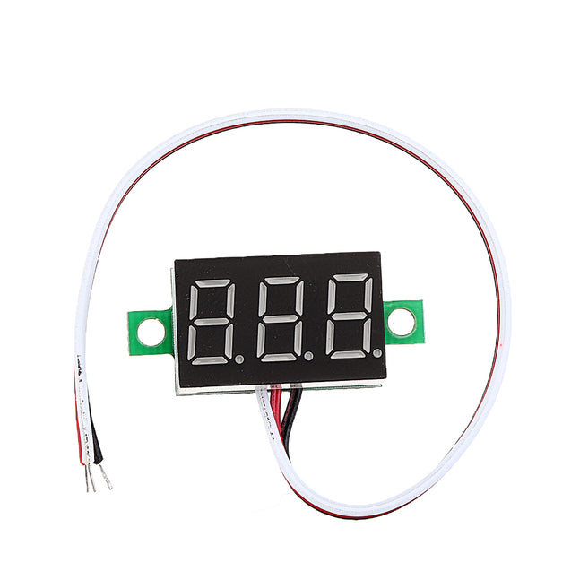 10pcs 0.36 Inch DC0V-32V Blue LED Digital Display Voltage Meter Voltmeter Reverse Connection Protection
