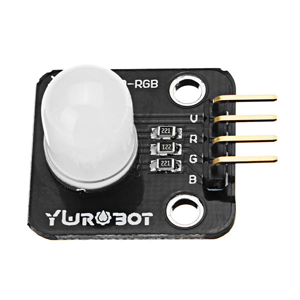 3Pcs Full Color LED Module 10mm Bright RGB Board Electronic Building Blocks For Arduino