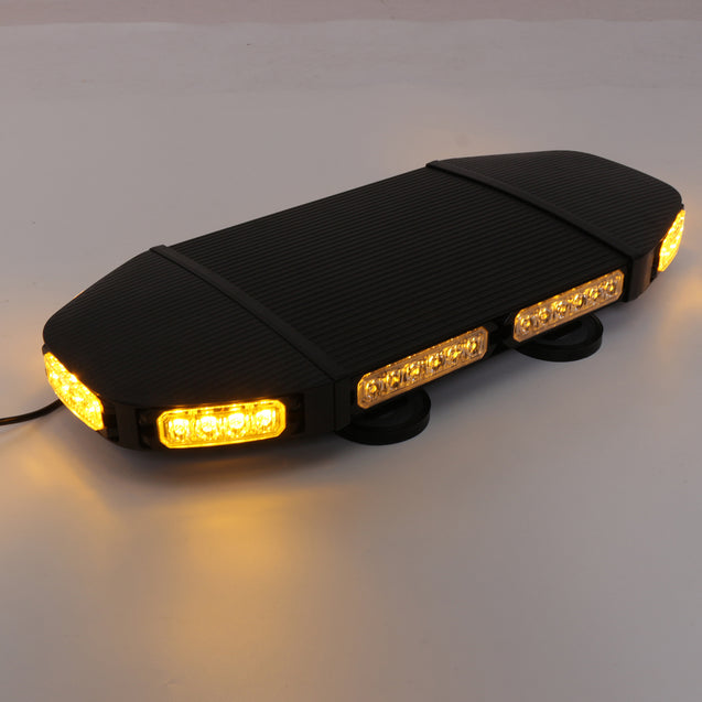 12/24V 144W LED Roof Strobe Lights Bar Emergency Beacon Warning Flash Lamp