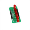 10pcs 8 Way Water Light Marquee 5MM RED LED Light-emitting Diode Single Chip Module Diy Electronic MCU Expansion Module