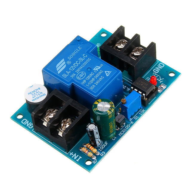 3pcs Universal 12V Battery Anti-discharge Controller with Delay Anti-over-discharge Protection Board Low Voltage Undervoltage Protection