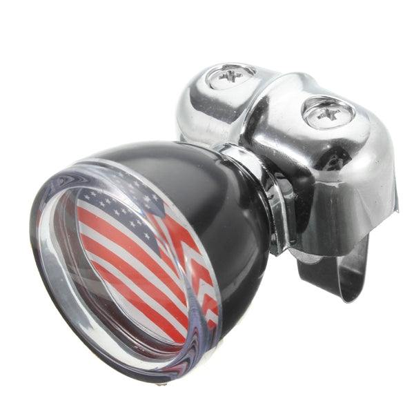USA Flag Badge Steel Ring Wheel Spinner Suicide Power Knob Handle Universal For Car Truck