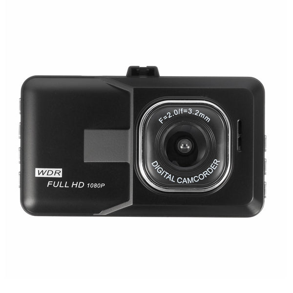 3.0Inch HD 16:9 1080P Car DVR Video Recorder Camcorder Dash Camera Night Vision