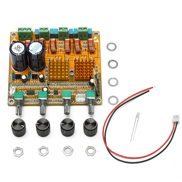 Bluetooth 4.0 Digital 2.1 Class D HIFI Power Amplifier Board 3CH Super Bass Amplifier
