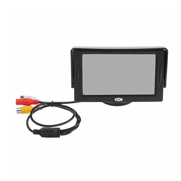 4.3Inch TFT LCD Car Rear View Monitor With Backup Camera Waterproof Night Vision