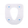 IPRee 10 pcs Disposable Toilet Seat Cover Mats Maternal Travel Toilet Pad Paper Padded Cushion