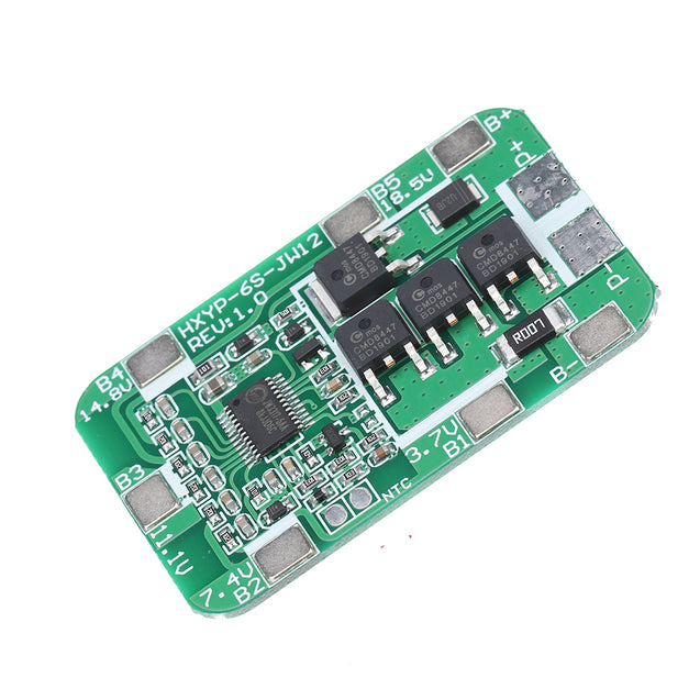 10pcs 6S 14A 22.2V 18650 Battery Protection Board for 18650 Li-ion Lithium Battery Cell Charger Protect Module PCB BMS