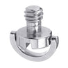 3pcs LS018 BEXIN 1/4 Inch Stainless Steel C-ring Screw for Camera